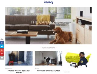 blog.canary.is screenshot