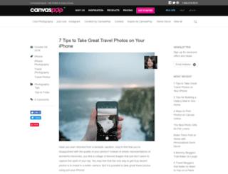blog.canvaspop.com screenshot