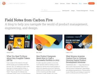 blog.carbonfive.com screenshot