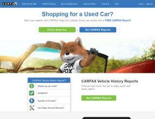 blog.carfax.com screenshot