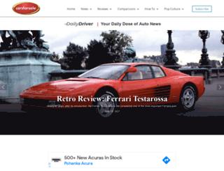 blog.carsforsale.com screenshot