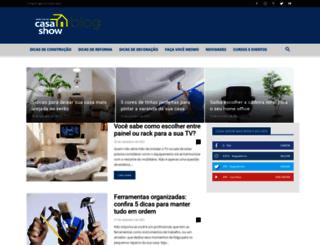 blog.casashow.com.br screenshot
