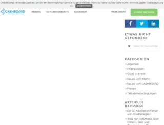 blog.cashboard.de screenshot