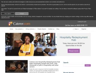 blog.caterer.com screenshot