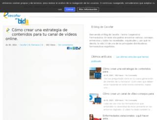 blog.cecofar.es screenshot