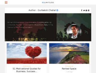 blog.chahal.com screenshot