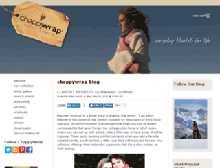 blog.chappywrap.com screenshot