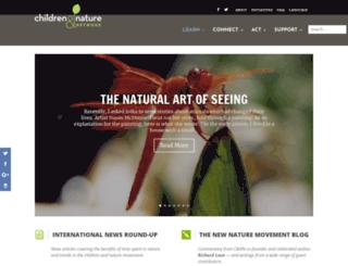 blog.childrenandnature.org screenshot