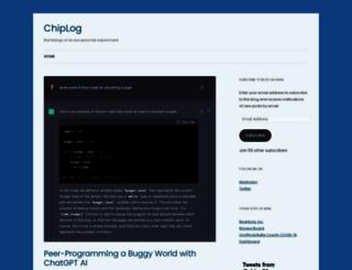 blog.chipx86.com screenshot