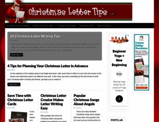 blog.christmaslettertips.com screenshot