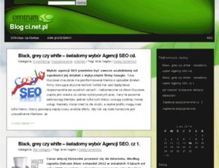 blog.ci.net.pl screenshot