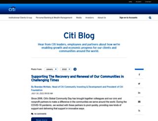 blog.citimortgage.com screenshot