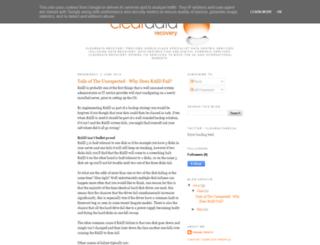 blog.cleardatarecovery.co.uk screenshot