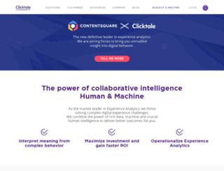 blog.clicktale.com screenshot