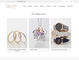 blog.clogau.co.uk screenshot