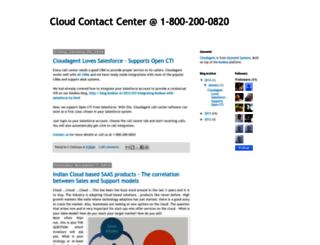 blog.cloudagent.in screenshot