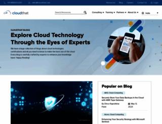blog.cloudthat.in screenshot