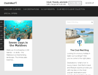blog.clubmed.co.uk screenshot
