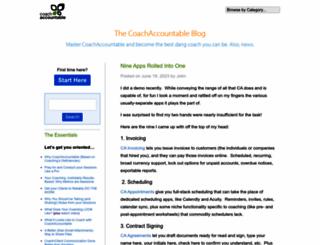 blog.coachaccountable.com screenshot