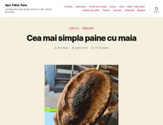 blog.codrudepaine.ro screenshot