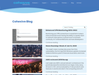 blog.cohesiveft.com screenshot
