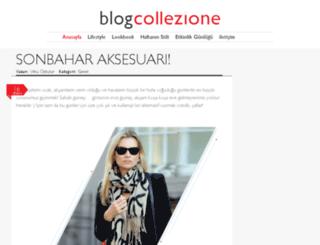 blog.collezione.com screenshot
