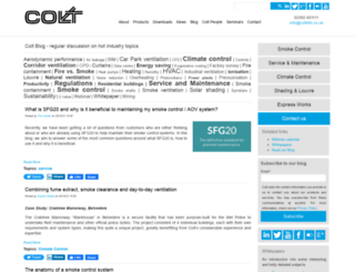 blog.coltinfo.co.uk screenshot