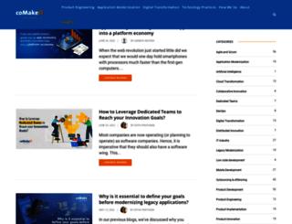 blog.comakeit.com screenshot