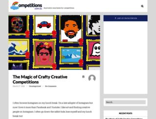 blog.competitions.com.au screenshot