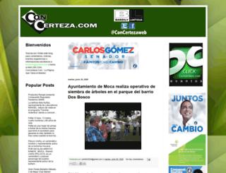 blog.concerteza.com screenshot