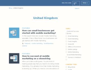 blog.constantcontact.co.uk screenshot