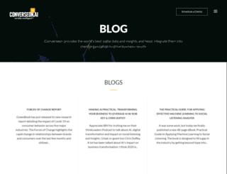 blog.converseon.com screenshot