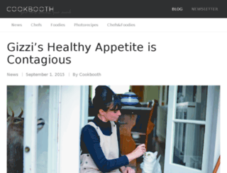 blog.cookbooth.com screenshot