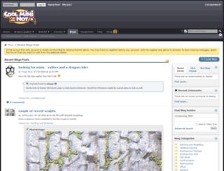 blog.coolminiornot.com screenshot