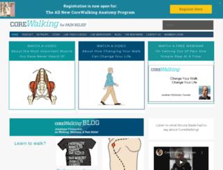 blog.corewalking.com screenshot