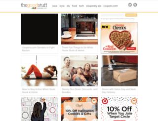 blog.coupons.com screenshot
