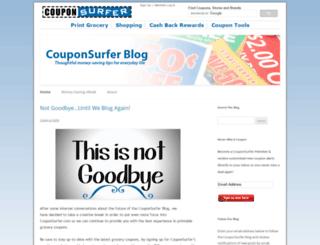 blog.couponsurfer.com screenshot