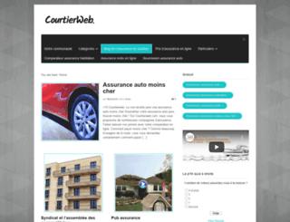 blog.courtierweb.com screenshot