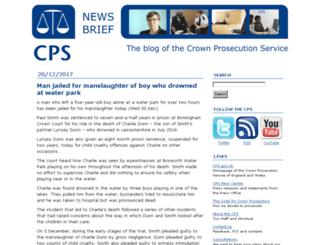 blog.cps.gov.uk screenshot