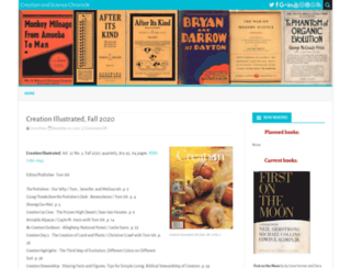 blog.creation.org screenshot