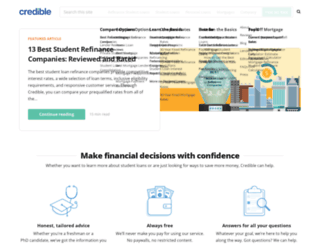 blog.credible.com screenshot