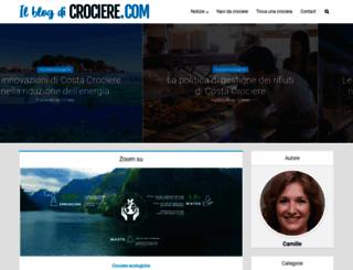 blog.crociere.com screenshot