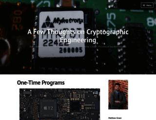 blog.cryptographyengineering.com screenshot