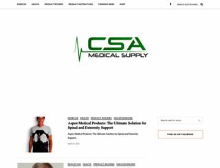 blog.csamedicalsupply.com screenshot