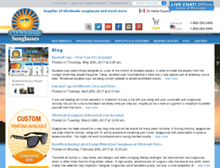 blog.ctswholesalesunglasses.com screenshot