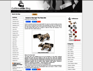 blog.cufflinksman.com screenshot