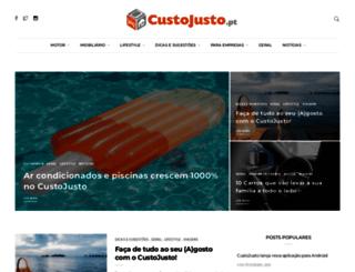 blog.custojusto.pt screenshot