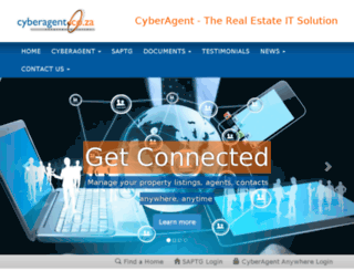 blog.cyberagent.co.za screenshot