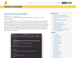 blog.cyberduck.ch screenshot
