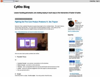 blog.cykho.com screenshot